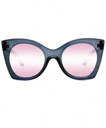 Savanna Peach Mirror Sunglasses