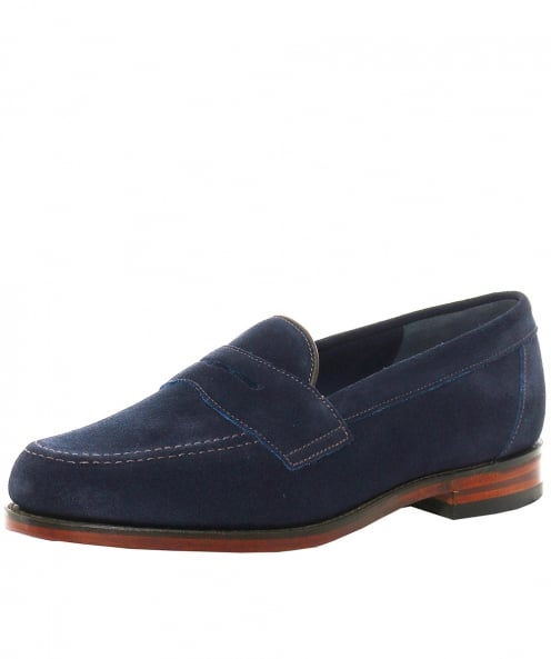 Loake Saddle Suede Eton Loafers