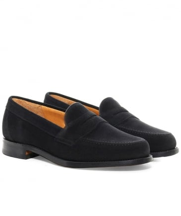 Saddle Suede Eton Loafers