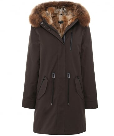 Rena Fur-Lined Long Parka