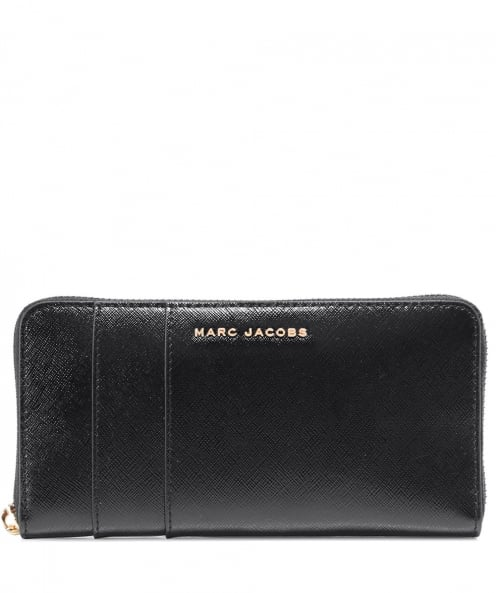 Marc Jacobs Leather Colourblock Continental Wallet