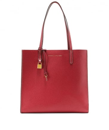 Leather The Grind Shopper Tote Bag