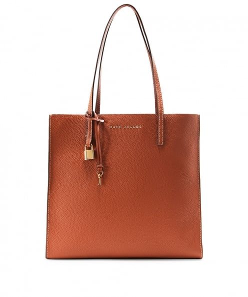 Marc Jacobs Leather The Grind Shopper Tote Bag