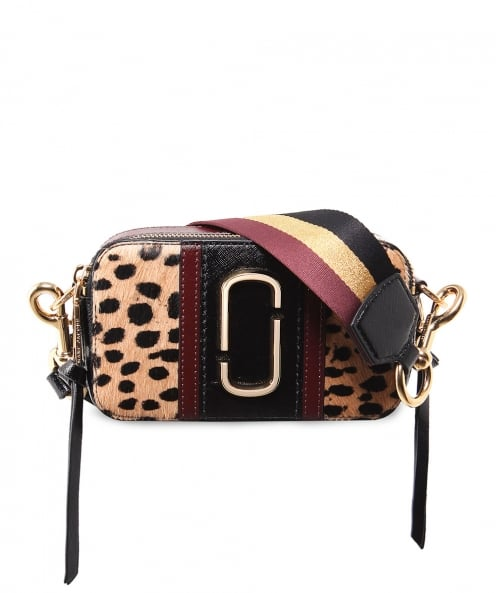 Marc Jacobs Leopard Small Snapshot Camera Bag