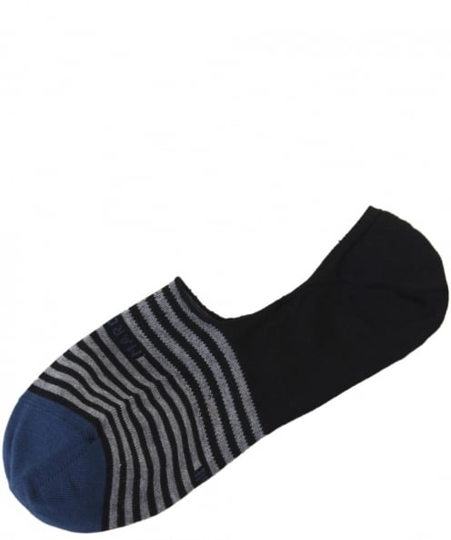 Marcoliani Women's Stripe Invisible Socks