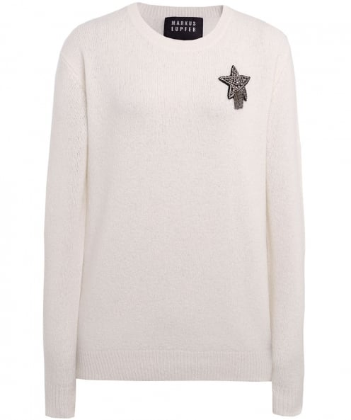 Markus Lupfer Wool Shooting Star Jumper