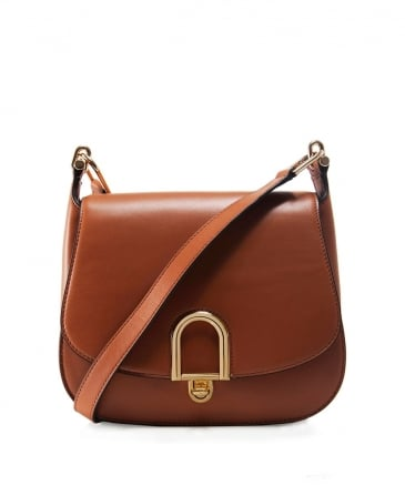 Leather Delfina Crossbody Bag