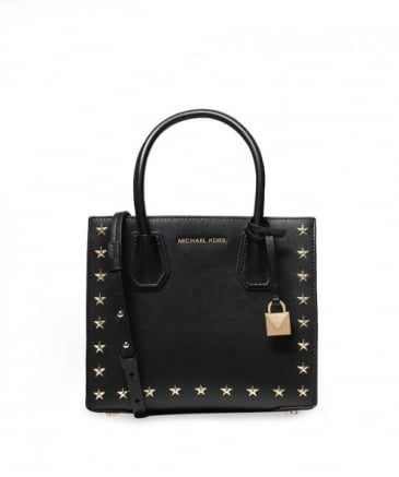 Leather Studded Mercer Bag