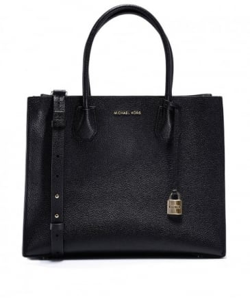 Mercer Large Leather Tote Bag