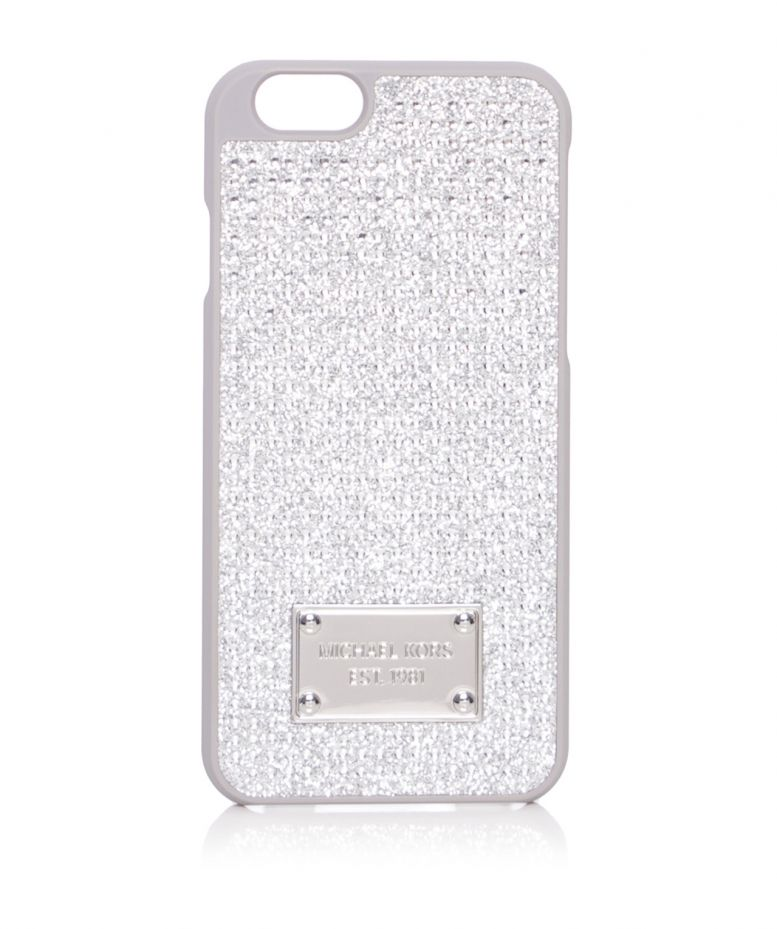 Michael michael kors crystal pave iphone 6 case available for Housse iphone 6 michael kors