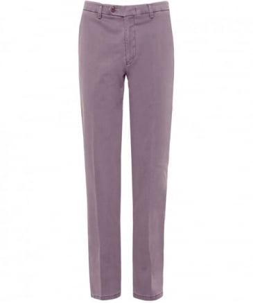 Slim Fit Silk Blend Lynx Trousers