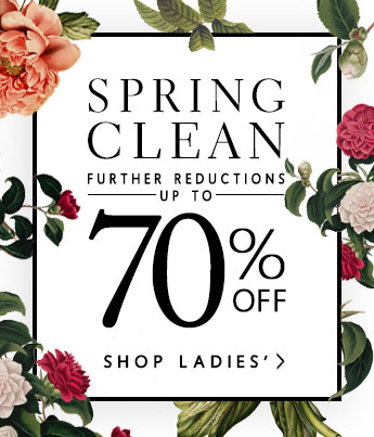 SPRING CLEAN - LADIES