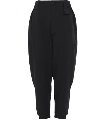 Cropped Easy Trousers