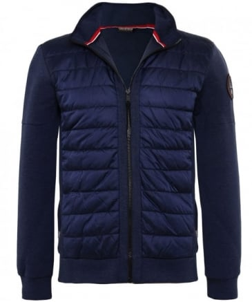 Quilted Fleece Ban Jacket
