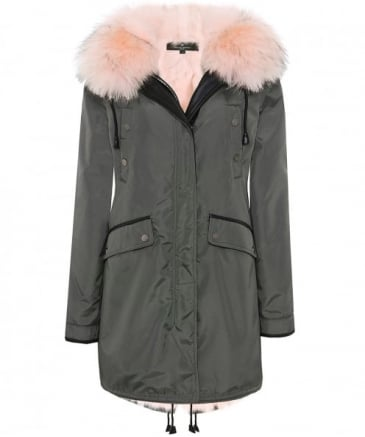 Belleville Fur Trim Parka