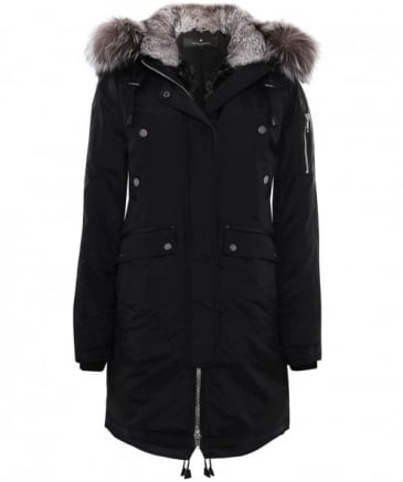 Madison Fur Trim Parka