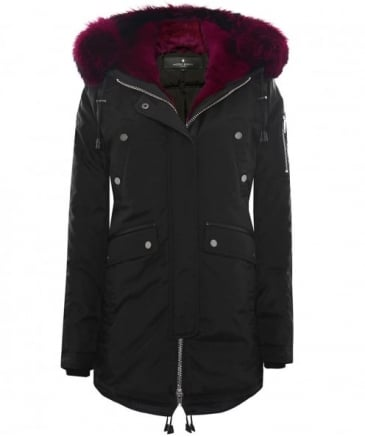 Melrose Fur Trim Parka