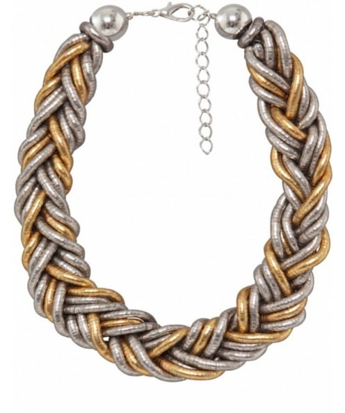 Nouv-Elle Plait Chain Necklace