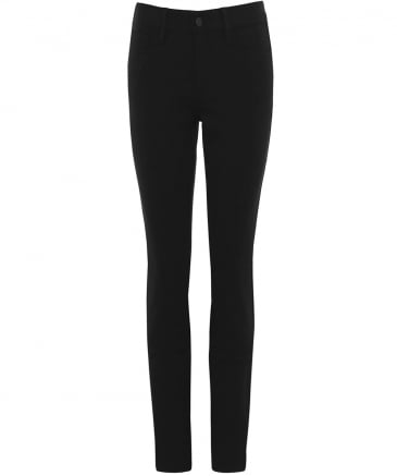 Sheri Slim Jersey Five Pocket Trousers
