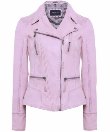 Asymmetric Biker Jacket