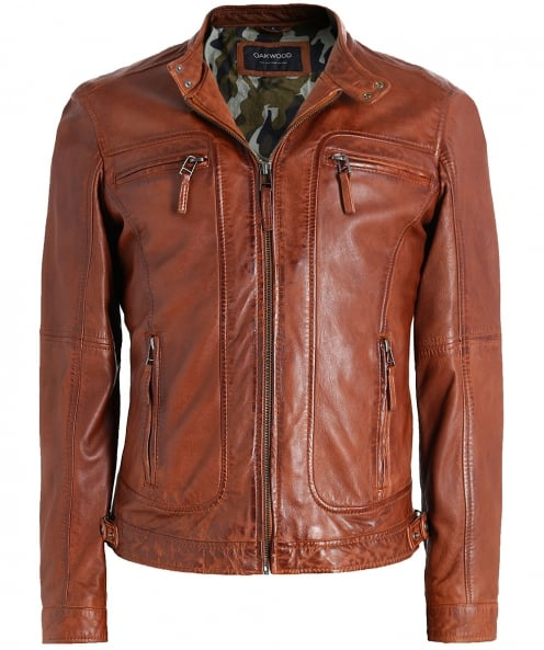Oakwood Leather Casey Jacket