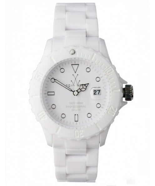 Monochrome White Toy Watch MO01WH