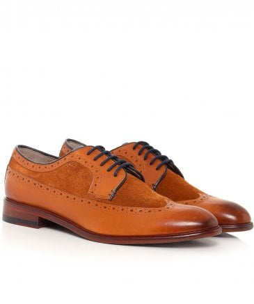 Leather Ossington Derby Shoes