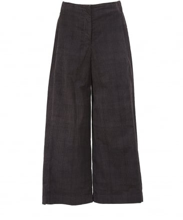 Check Corduroy Veria Trousers
