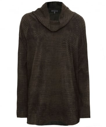 Venka Cowl Neck Jumper