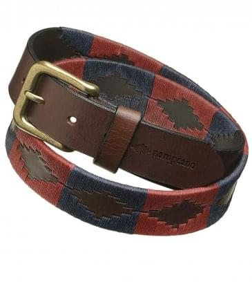 Leather Marcado Polo Belt