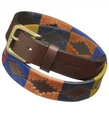 Leather Moreno Polo Belt