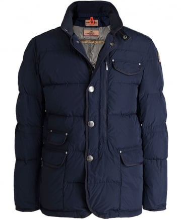 Quilted Blazer Down Jacket