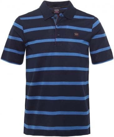 Organic Cotton Striped Polo Shirt