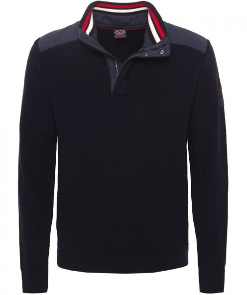 Paul and Shark Wool Half-Zip Jumper