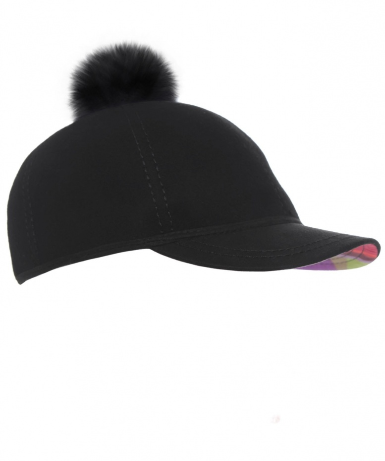 Paul Smith Accessories Wool Baseball Cap