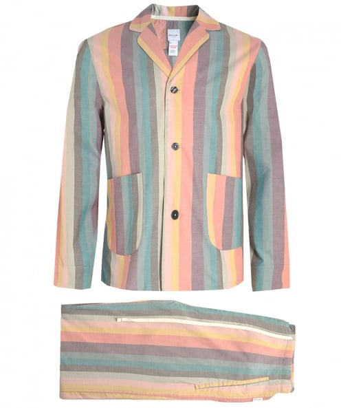Paul Smith Artist Striped Pyjama Set