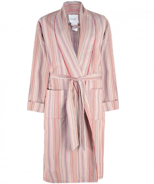 Paul Smith Cotton Striped Robe