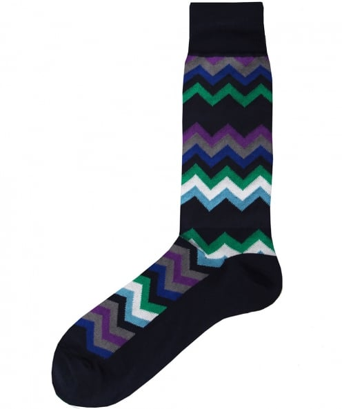 Paul Smith Fleet Chevron Socks