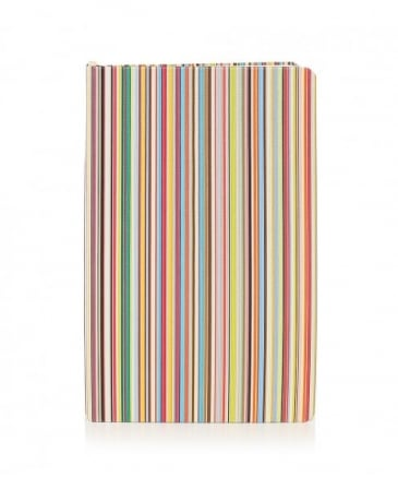 Medium Striped Notebook