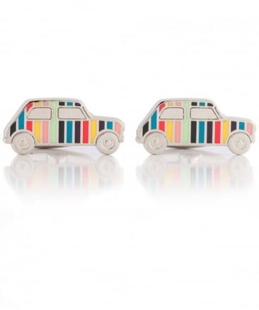 Striped Car Cufflinks