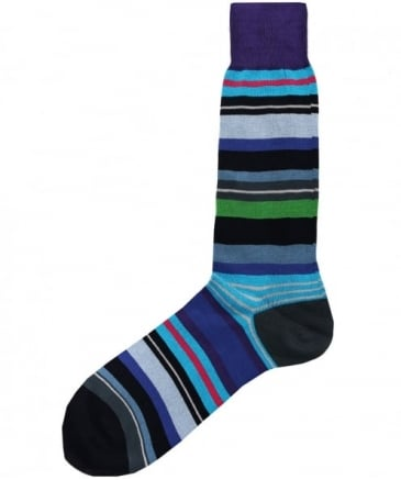 Striped Halentoe Socks