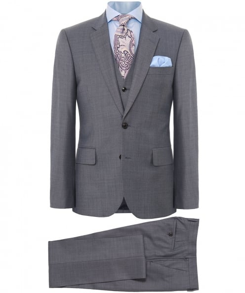 Paul Smith Tailored Fit Three Piece Wool Suit
