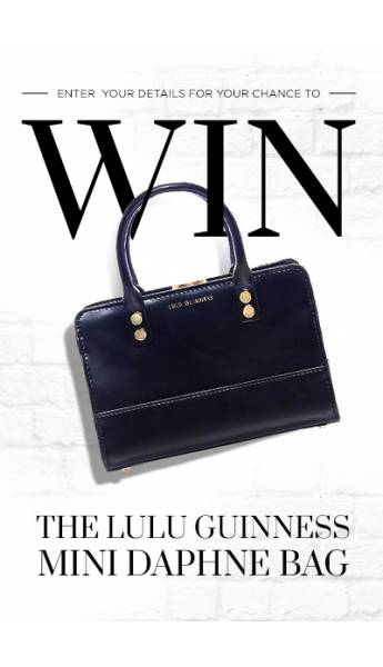 WIN! THE LULU GUINNESS MINI DAPHNE BAG