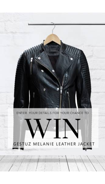 WIN! THE GESTUZ MELANIE LEATHER JACKET