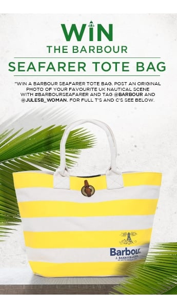 WIN A BARBOUR BAG FROM THEIR SS16 SEAFARER COLLECTION!