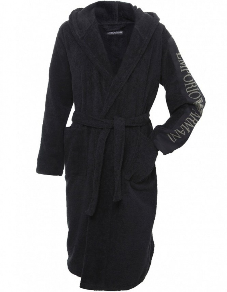 5c0e6ee395 Armani Embroidered EmporioBathrobe