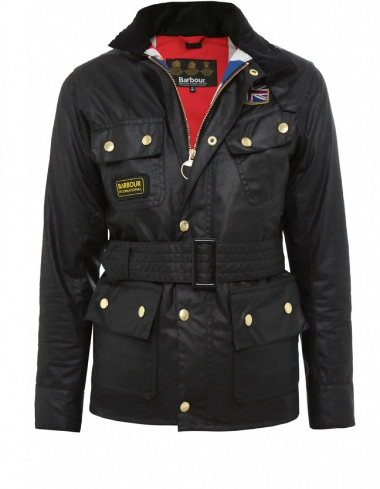 really cheap cheap undefeated x Kid's Belted Wax International Jacket 4-9