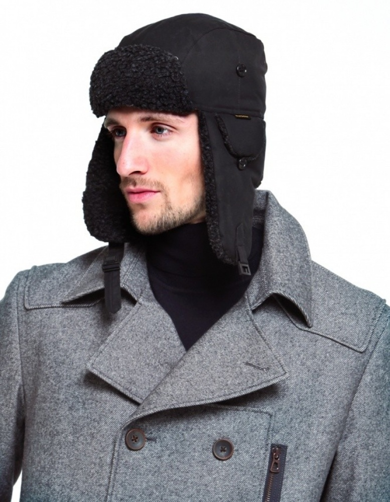 7d56ff044f3 Barbour Fleece Lined Trapper Hat available at Jules B