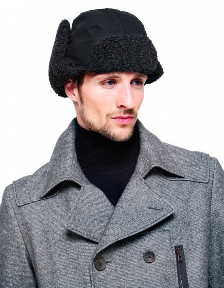 2084f7c6 Barbour Fleece Lined Trapper Hat available at Jules B