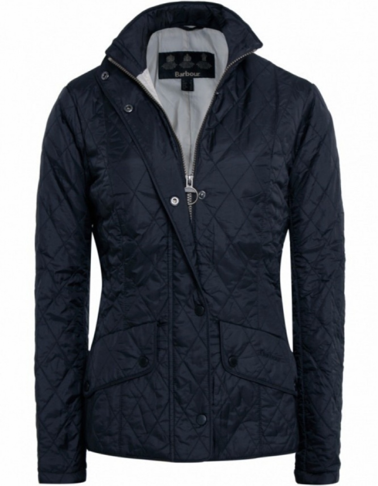 Womens Barbour Flyweight Cavalry Quilted Jacket Jules B